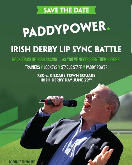paddy power lip sync