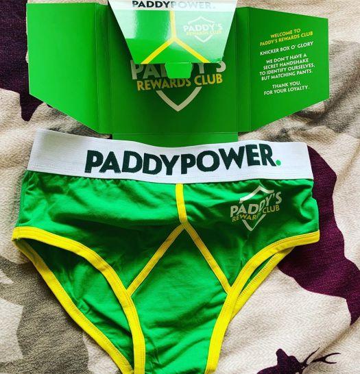 paddy power knicker box o glory