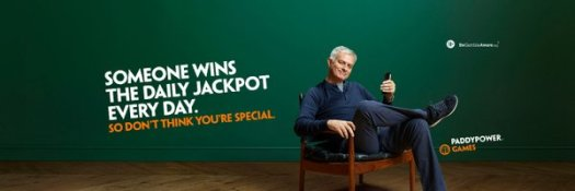 paddy power mourinho mast head
