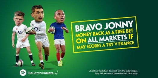 paddy power jonny may free bet