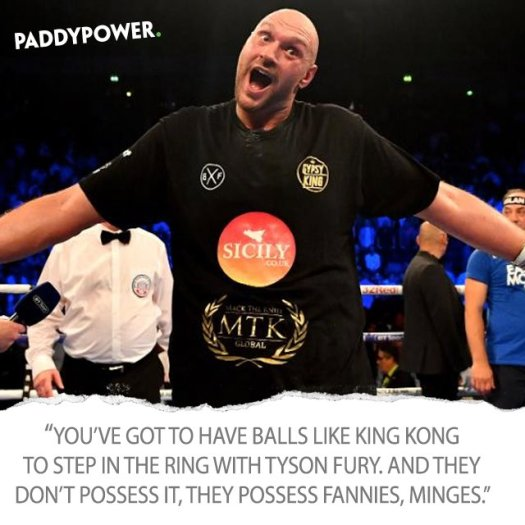 power tyson fury