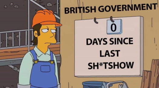 power brit government shit show